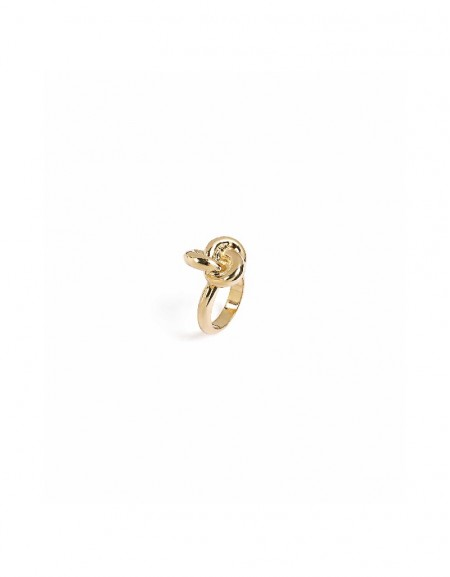 Gold Knot form ring