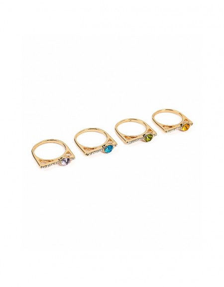 Gold Multi-look ring