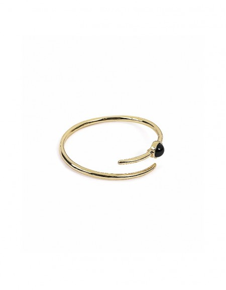 Gold Clamp bracelet