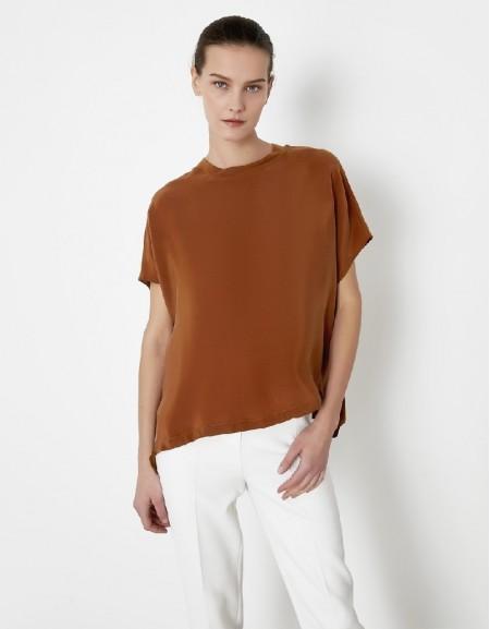 Tobacco Bat wing sleeve t-shirt