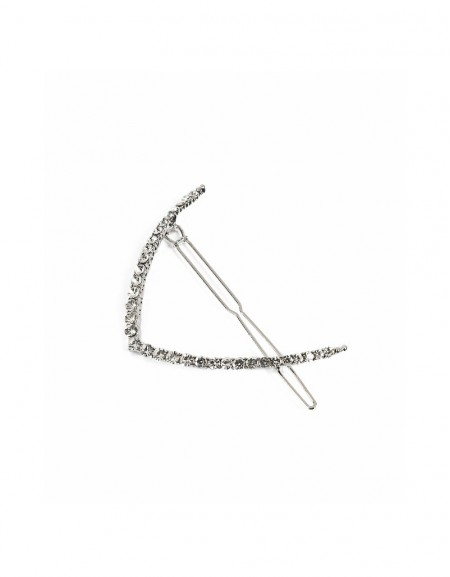 Silver Hair pin with stones