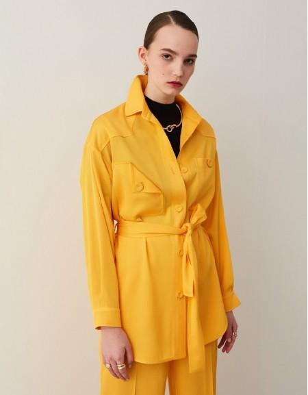 Yellow Shirt Jacket