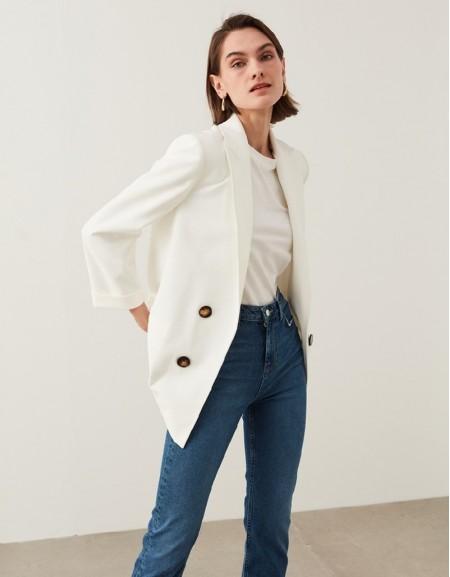 Off White Dovetail Jacket