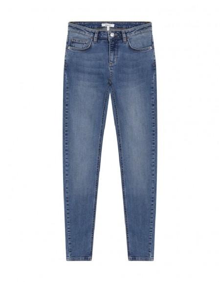 Indigo Skinny Fit Jean Pantolon