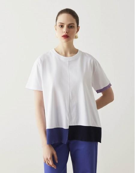 White Ribana Mix T-Shirt