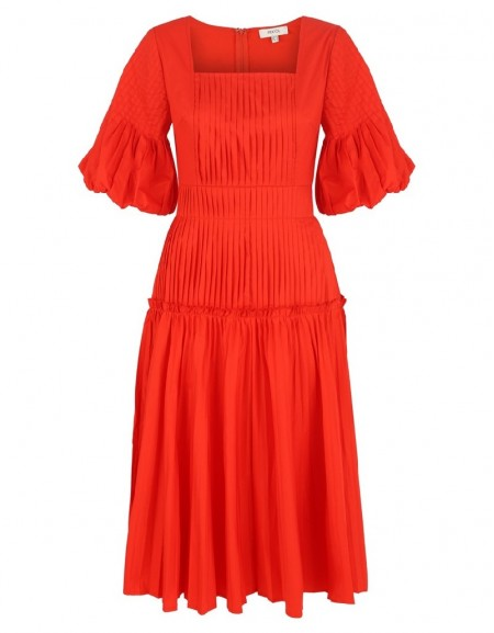Red Long Maxi Dress