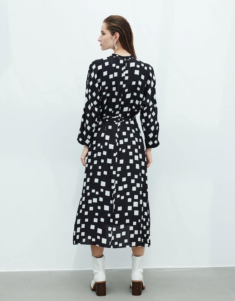 Black Envelop Dress