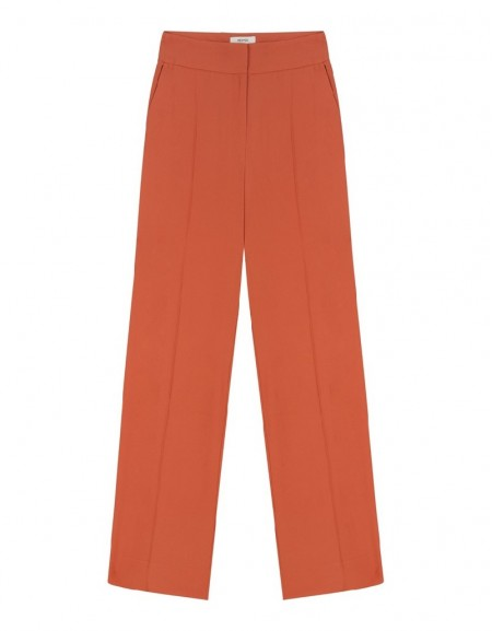 Old Rose HighWaist Orange Pant