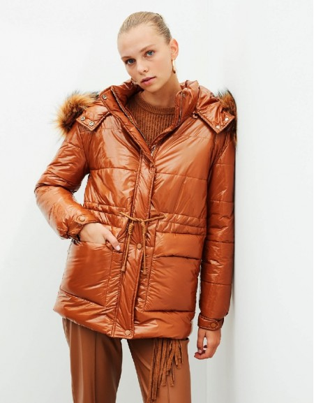Terracotta Waterproof And Windproof Jacket