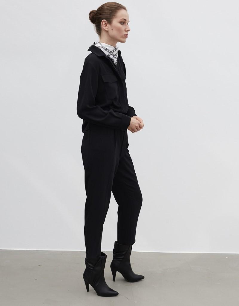 Black Belted overalls
