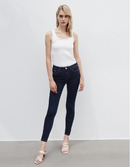 Blue Skinny Fit Jean Trousers