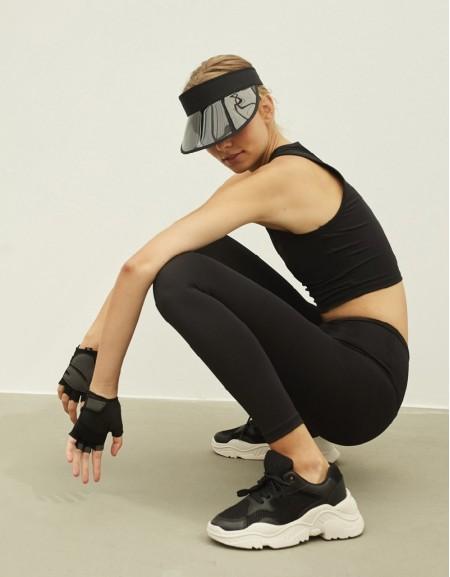 Black 360 Leggings Tights