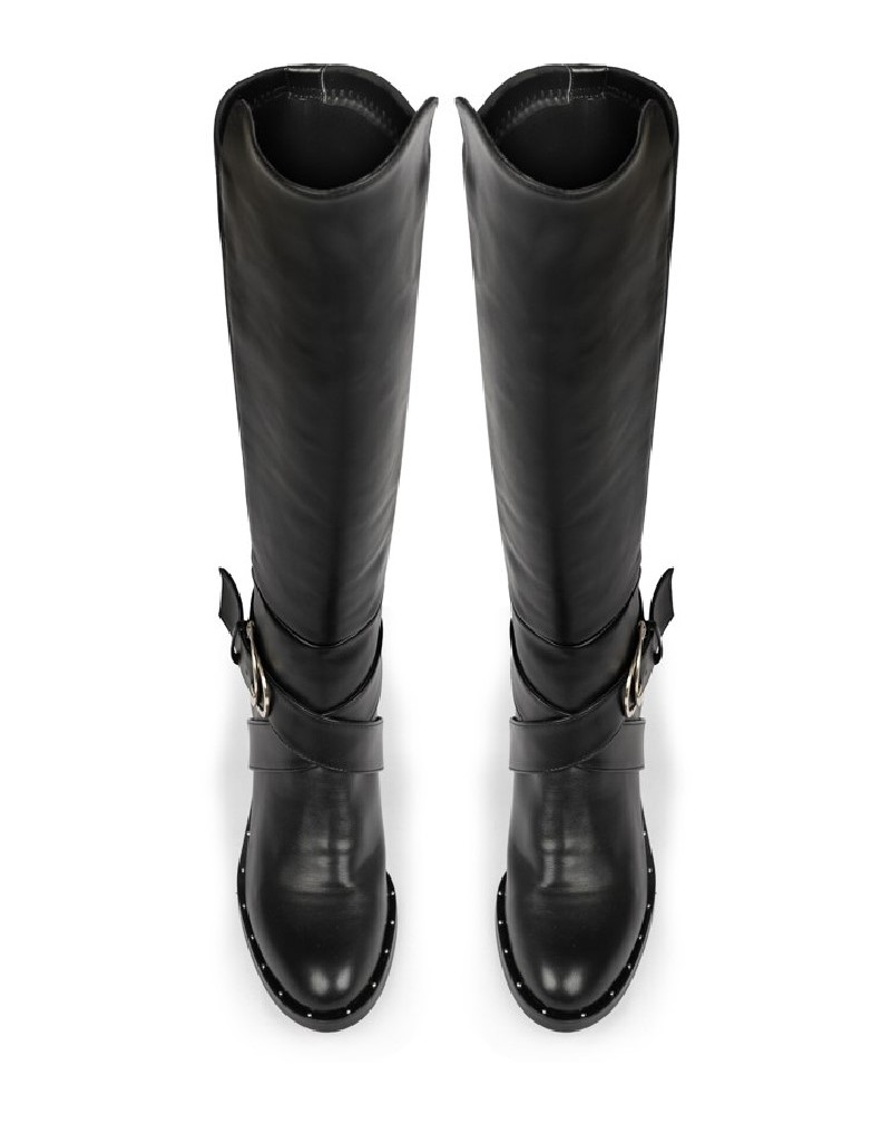 Black Boot Black