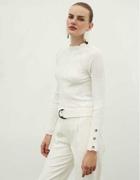 White Button Accessories Knitwear
