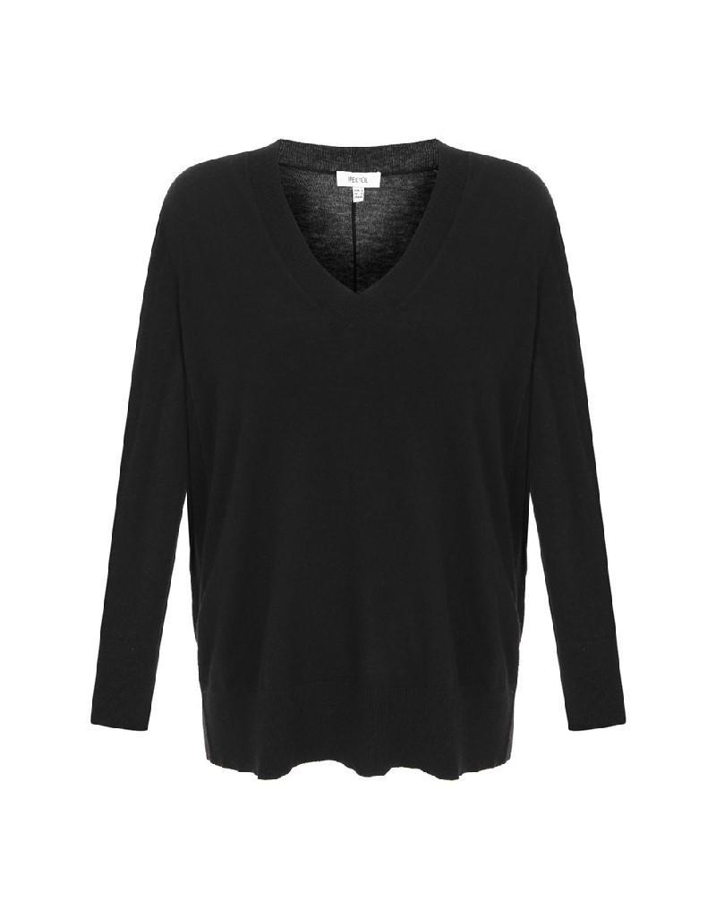 Black Knitwear Black