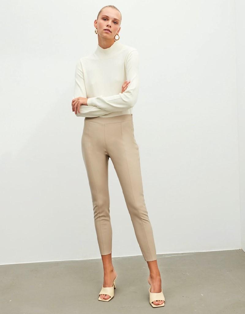 Beige Basic Knitwear
