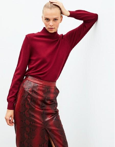 Purple Knitwear Bordeaux