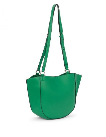 Green Double Sling Sleeve Bag