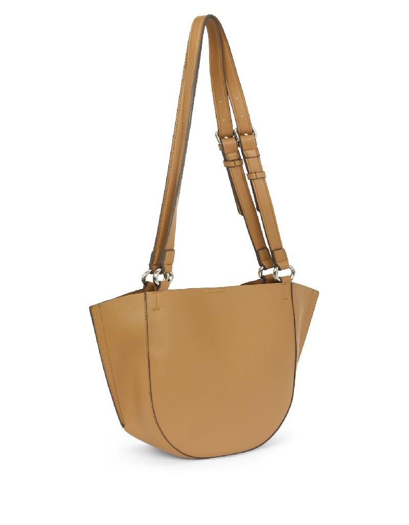 Brown Double Sling Sleeve Bag