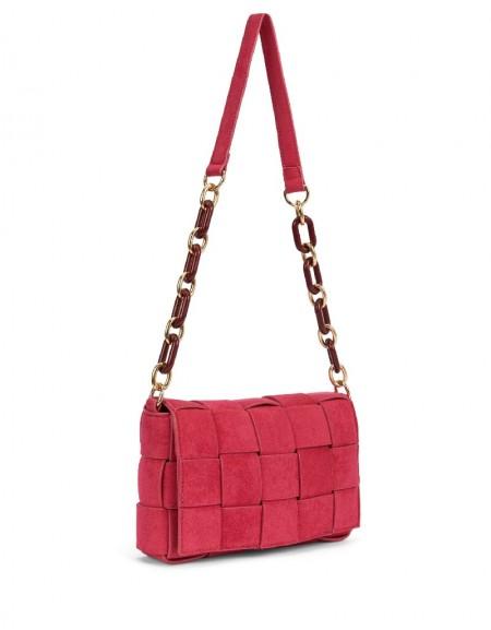 Pink Chain Strap Bag