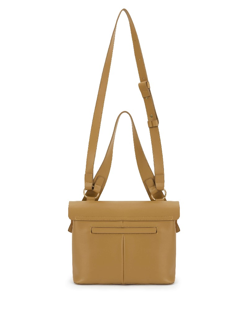 Brown Bag With Strap Detail