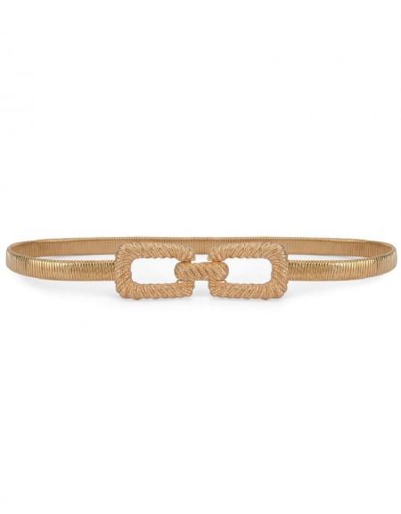 Golden Gold Metal Belt
