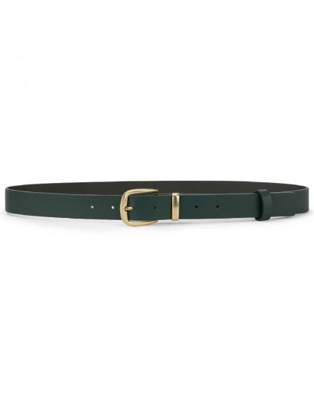 Green Metal Buckle Belt