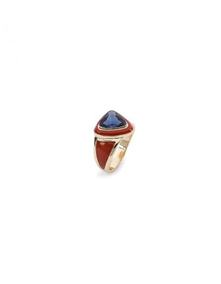 Pink Stone Detailed Ring