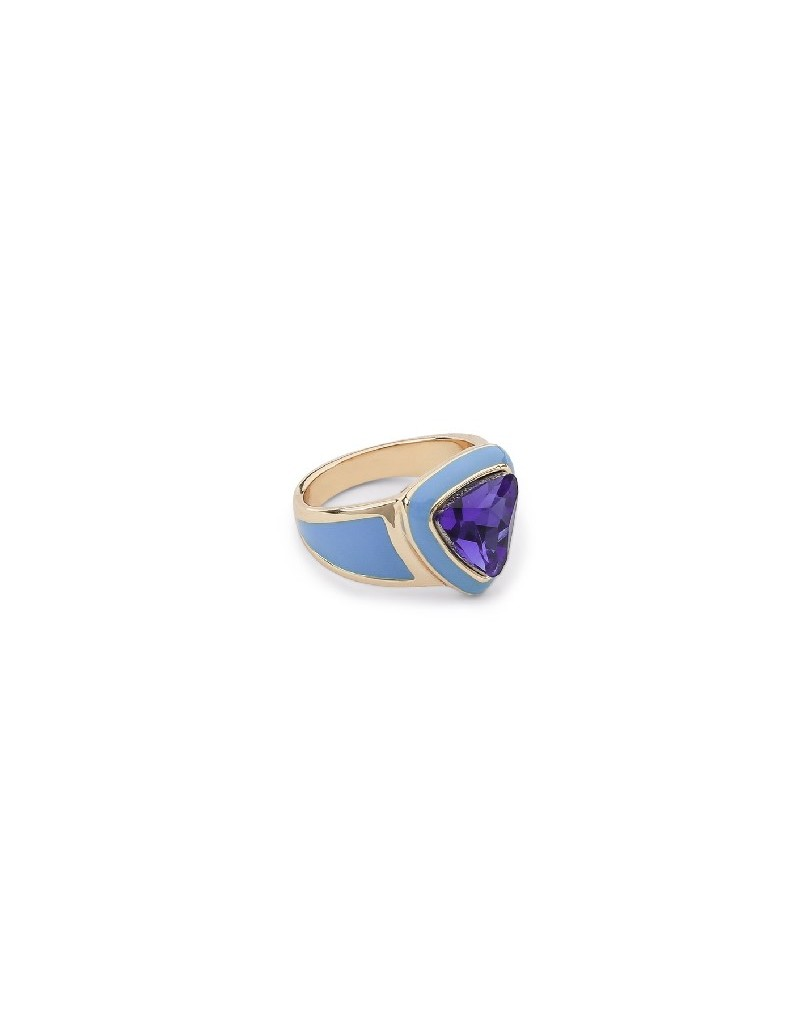 Blue Stone Detailed Ring