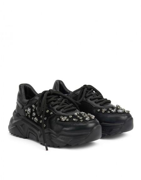 Black Stone Accessory Sneaker