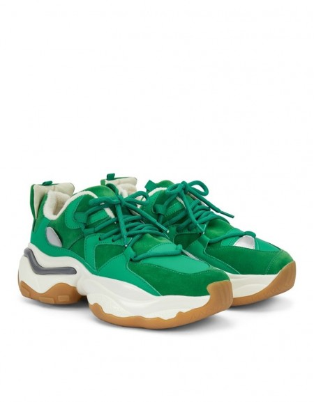 Green Color Transition Sneaker