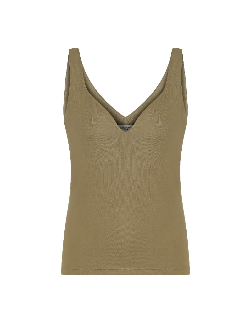 Beige Basic Athlete T-shirt Natural
