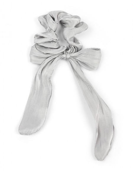 Gray Ribbons Figure Buckle