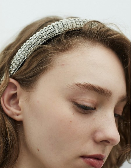 Silver Stoned Crown