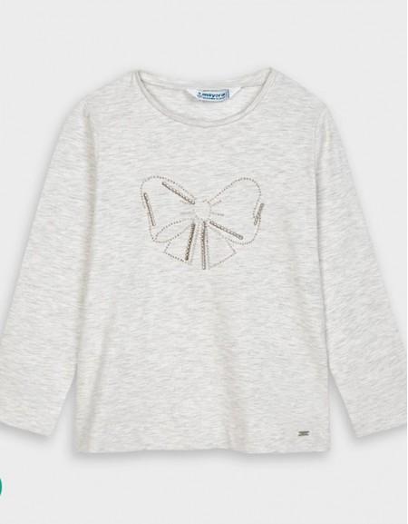 Linen Long Sleeved Basic T-Shirt