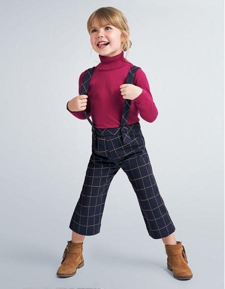 Cherry High Neck Knit Jumper