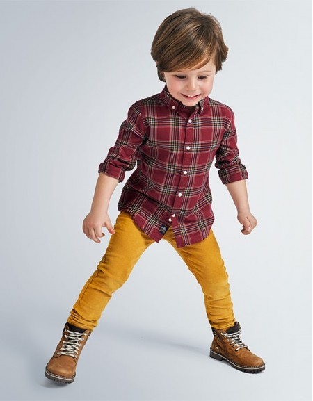 Honey Long Basic Corduroy Pants Slim Fit