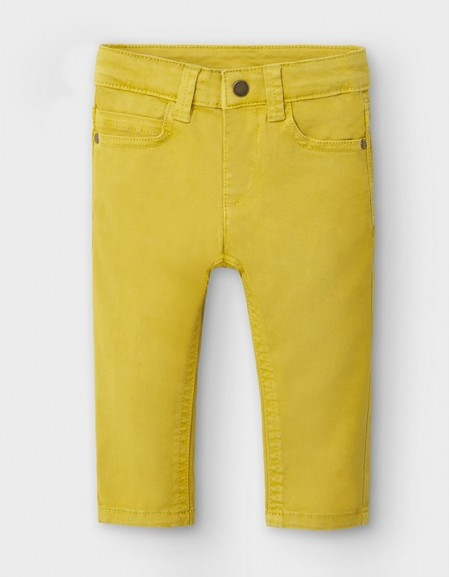 Olive Long Pants Slim Fit