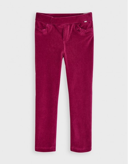 Cherry Basic Corduroy Trousers