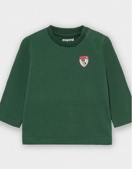 Spanishfir Long Sleeved Shield T-Shirt