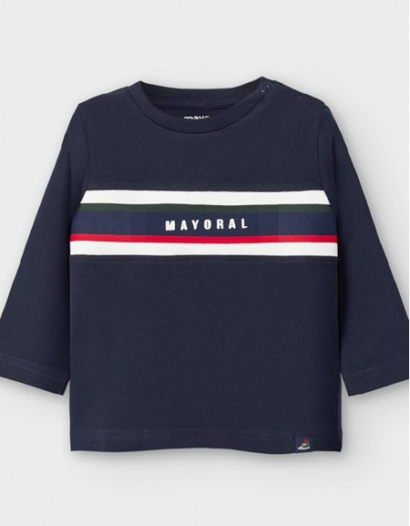 Blue Long Sleeved T-Shirt