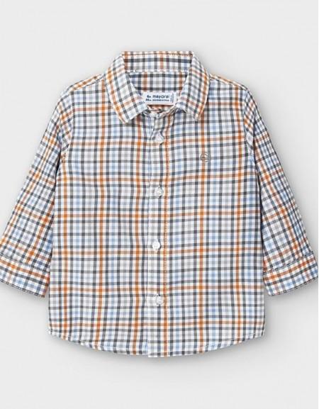 Cheddar Long Sleeved Checked Shirt