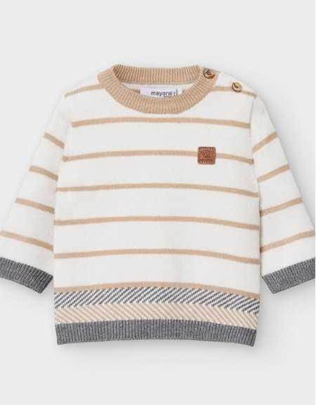 Graphite Striped Jumper