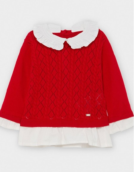 Carmine Re Combined Poplin Jumper