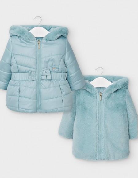 Jade Reversible Faux Fur Coat