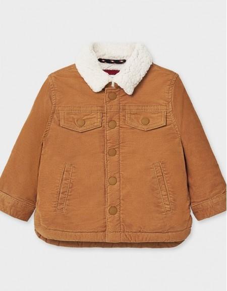 Almond Micro Corduroy Coat