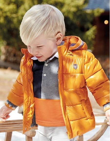 Cheddar Two-Tone Coat
