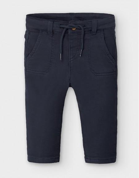 Blue Regular Fit Trousers