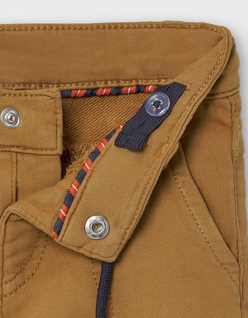 Almond Regular Fit Trousers