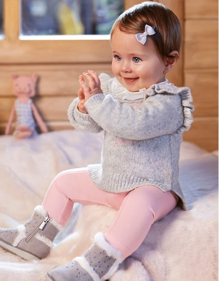 Rose Trousers With Bows